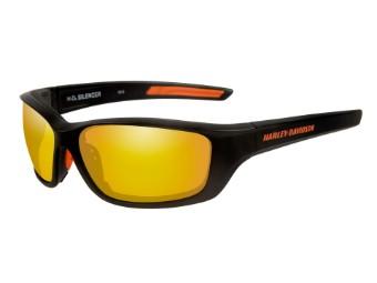 Wiley X Silencer Copper Orange Mirror Motorrad Brille