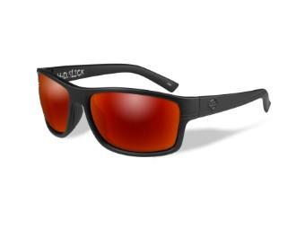 Wiley X Slick Red Mirror Motorrad Brille