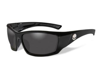 Wiley X TAT Smoke Grey Motorrad Brille