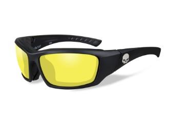 Wiley X TAT Yellow Motorrad Brille