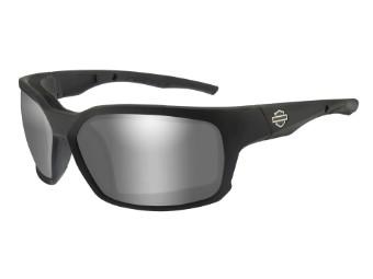 Wiley X Cogs PPZ Grey Silver Flash Motorrad Brille