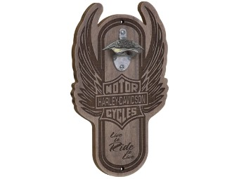 Ace Winged B&S Magnetic Bottle Opener Wand Flaschenöffner