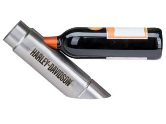 H-D Exhaust Pipe Wine Bottle Holder Weinflaschenhalter