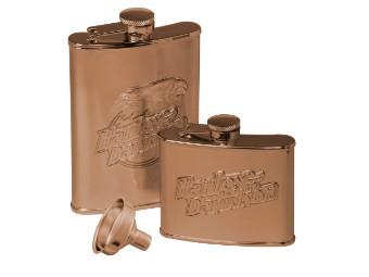 H-D Eagle Flask Set Flachmann