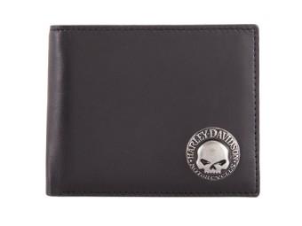 Skull Concho Bifold Wallet Geldbörse