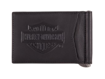 Bar & Shield Classic Money Clip Wallet Geldbörse