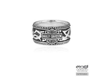 Ring Harley-Davidson Tribal B&S Band