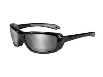 Wiley X Rage-X Silver Flash Motorrad Brille