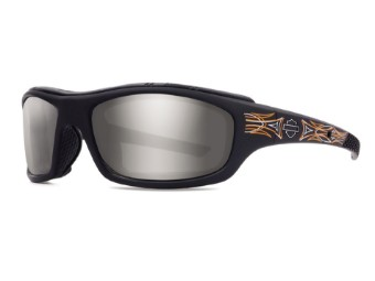 WileyXHDTunnel Pinstripe PPZ Limited Edition Motorrad Brille, Polarized
