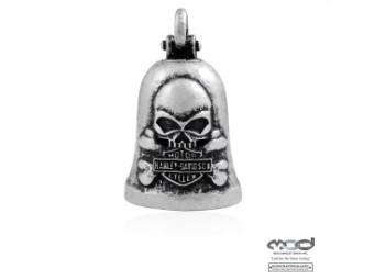 MOD H-D Skull & Crossbones Ride Bell Glöckchen