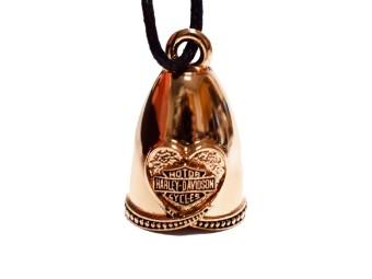 MOD Rose Gold Heart Ride Bell Glöckchen