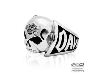 MOD Steel Skull Ring