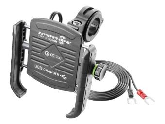 Moto Crab Handy-Halterung mit USB-Ladung