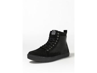 Neo Black/Black XTM Aramid Motorrad Schuhe