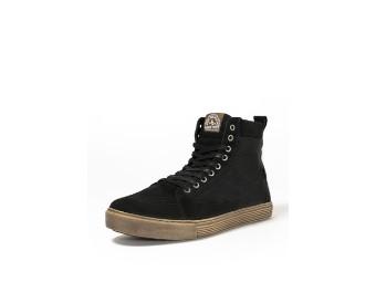 Neo Black/Brown XTM Aramid Motorrad Schuhe