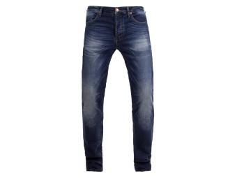 Ironhead Mechanix used dark blue Denim XTM Motorrad Jeans