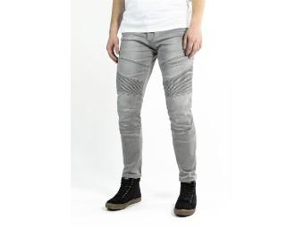 Rebel Jeans Light Grey XTM Aramid Motorrad Hose