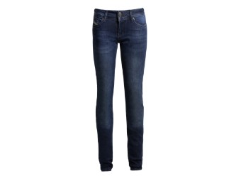 Betty High XTM Dark Blue Used Motorrad Jeans