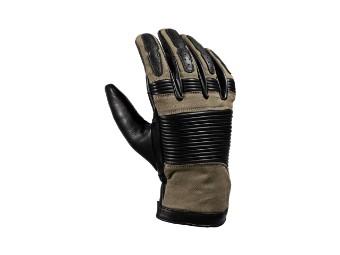 Durango Black/Camel XTM Motorrad Handschuhe