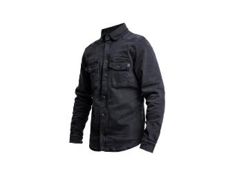 Motorshirt XTM Denim Black Lumberjack
