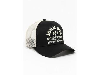 Trucker Hat Black/White Cap Schirmmütze