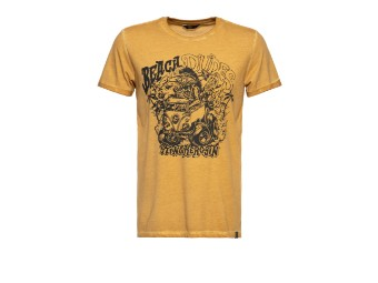 Beach Dudes Lime Oilwash T-Shirt