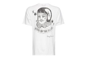 Playcard King Off White Basic T-Shirt