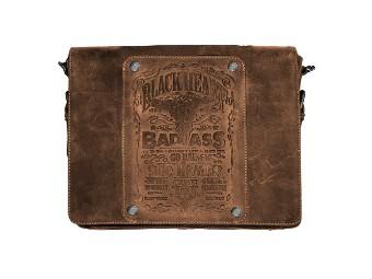 Black Bourbon Ladykiller Tasche Leder