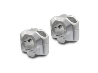 Lenkererhöhung für Ø 22 mm Lenker, Silber