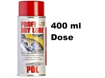 Kettenspray Profi Dry Lube PDL - 400 ml Dose
