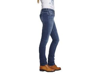 Rokkєrtech Lady Motorrad Damen Jeans