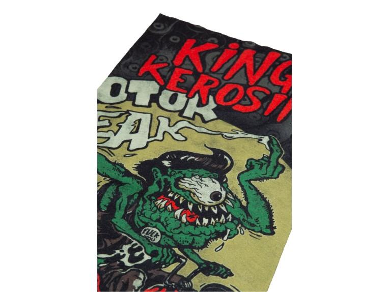 KK260053-200-ONESIZE, HALSTUCH KING KEROSIN LOUD & FAST