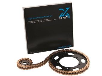Kettensatz Hercules Prima SX,Ritzel # 415 / 104 Clipschloss
