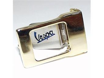 Gürtelschnalle mit VESPA Schriftzug