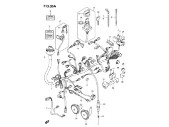 Feder Bremslichtschalter LT-A/LT