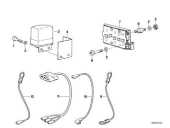 Gummilager Diodenplatte R-Modelle