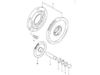 Anlasserfreilauf GSX-R 600 `06-