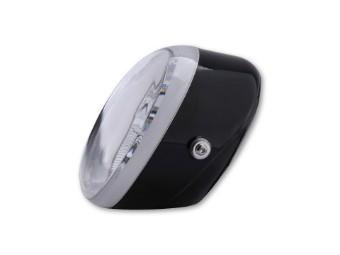 SHIN YO Universal Scheinwerfer OVAL mit Standlicht, schwarz,