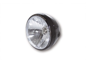SHIN YO 7 Zoll Scheinwerfer RENO 2, schwarz glänzend