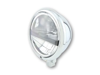 HIGHSIDER 5 3/4 Zoll LED Scheinwerf er BATES STYLE TYP 5, chr