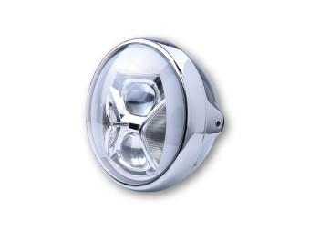 HIGHSIDER 7 Zoll LED Scheinwerfer B RITISH-STYLE TYP 8 mit TF