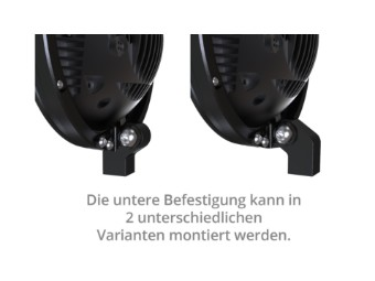 HIGHSIDER 5 3/4 Zoll LED-Scheinwerf er FRAME-R2 Typ 7, schwar