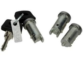 Schliesszylinder Satz  ZIP 25 3 Zylinder mit 2 Schlüssel