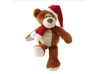 Plüsch Teddy Ted mir Mütze und Schal