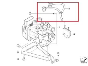 Verschluss-Deckel für I-ABS mit Entlüftungsschlauc