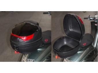 Topcase Zündapp Bella 50/125 R mit Rückenlehne und Reflektor