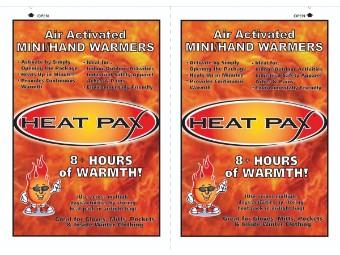 HeatPax Hand-Wärmer Einsätze