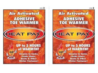 HeatPax Zeh-Wärmer Einsätze
