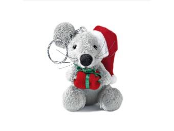 Plüsch Maus mit Geschenk