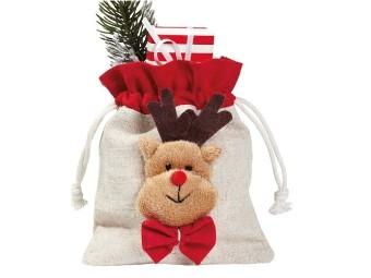 Weihnachtsbeutel Elch
